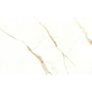 Образец керамогранита от производителя Laminam коллекции Cava Calacatta Oro Venato Lucidato 12,5 мм..