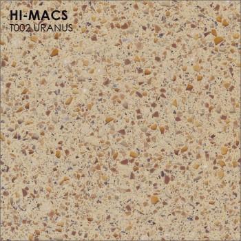 Образец искусственного камня от производителя LG HI-MACS Galaxy коллекцияT002 URANUS..