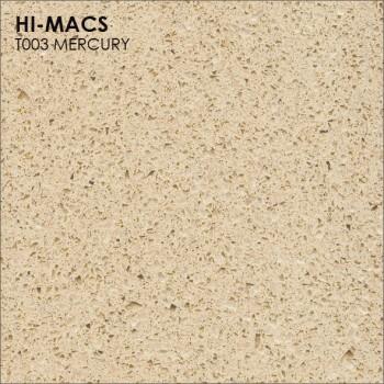 Образец искусственного камня от производителя LG HI-MACS Galaxy коллекцияT003 MERCURY..