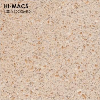 Образец искусственного камня от производителя LG HI-MACS Galaxy коллекцияT005 COSMO..