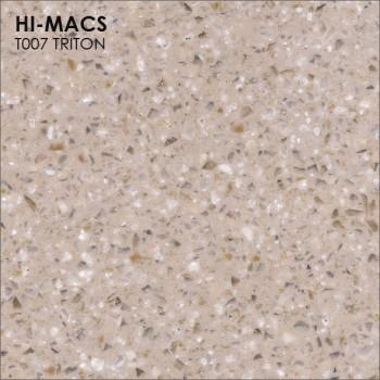 Образец искусственного камня от производителя LG HI-MACS Galaxy коллекцияT007 TRITON..