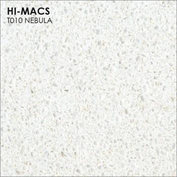 Образец искусственного камня от производителя LG HI-MACS Galaxy коллекцияT010 NEBULA..