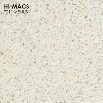 Образец искусственного камня от производителя LG HI-MACS Galaxy коллекцияT011 VENUS..