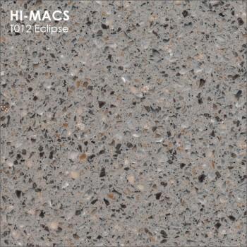 Образец искусственного камня от производителя LG HI-MACS Galaxy коллекцияT012 ECLIPSE..
