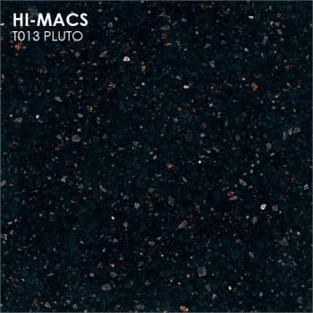 Образец искусственного камня от производителя LG HI-MACS Galaxy коллекцияT013 PLUTO..