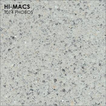 Образец искусственного камня от производителя LG HI-MACS Galaxy коллекцияT014 PHOBOS..