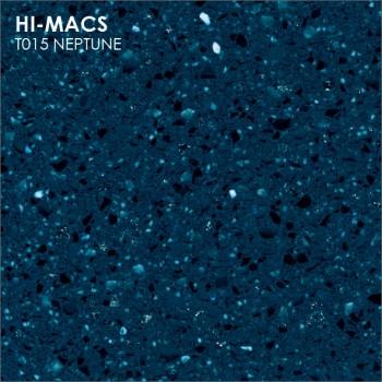 Образец искусственного камня от производителя LG HI-MACS Galaxy коллекцияT015 NEPTUNE..