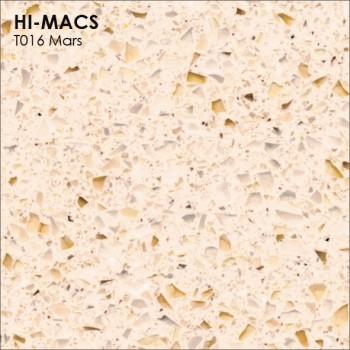 Образец искусственного камня от производителя LG HI-MACS Galaxy коллекцияT016 MARS..