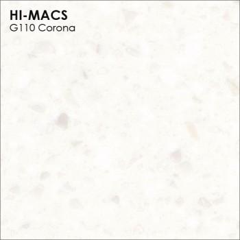 Образец искусственного камня от производителя LG HI-MACS Granite коллекцияG110 CORONA..