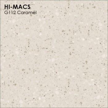 Образец искусственного камня от производителя LG HI-MACS Granite коллекцияG112 CARAMEL..