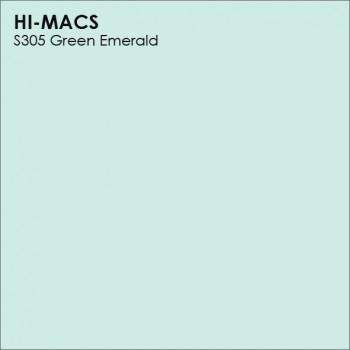 Образец искусственного камня от производителя LG HI-MACS Lucent коллекцияS305 GREEN EMERALD..
