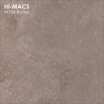 Образец искусственного камня от производителя LG HI-MACS Marmo коллекцияM104 ROMA..