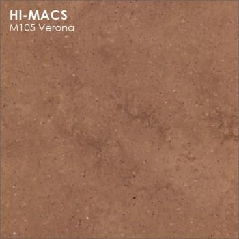 Образец искусственного камня от производителя LG HI-MACS Marmo коллекцияM105 VERONA..