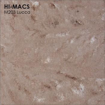 Образец искусственного камня от производителя LG HI-MACS Marmo коллекцияM203 LUCCA..