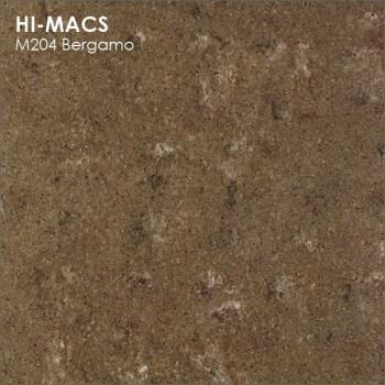 Образец искусственного камня от производителя LG HI-MACS Marmo коллекцияM204 BERGAMO..