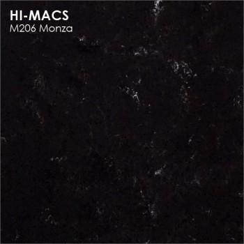 Образец искусственного камня от производителя LG HI-MACS Marmo коллекцияM206 MONZA..