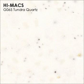 Образец искусственного камня от производителя LG HI-MACS Quartz коллекцияG065 TUNDRA QUARTZ..