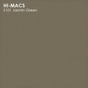 Образец искусственного камня от производителя LG HI-MACS Solid коллекцияS101 JASMIN GREEN..