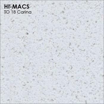Образец искусственного камня от производителя LG HI-MACS Volcanics коллекцияT018 CARINA..