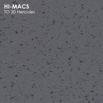 Образец искусственного камня от производителя LG HI-MACS Volcanics коллекцияT020 HERCULES..