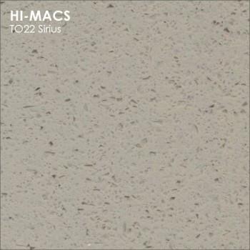 Образец искусственного камня от производителя LG HI-MACS Volcanics коллекцияT022 SIRIUS..