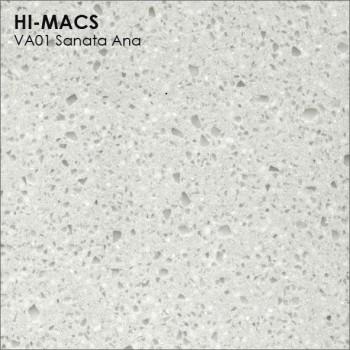 Образец искусственного камня от производителя LG HI-MACS Volcanics коллекцияVA01 SANATA ANA..