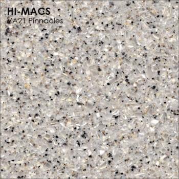 Образец искусственного камня от производителя LG HI-MACS Volcanics коллекцияVA21 PINNACLES..