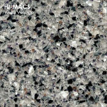 Образец искусственного камня от производителя LG HI-MACS Volcanics коллекцияVA23 VESUVIO..