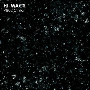 Образец искусственного камня от производителя LG HI-MACS Volcanics коллекцияVB02 CIMA..