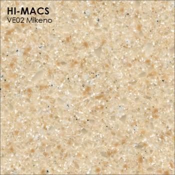 Образец искусственного камня от производителя LG HI-MACS Volcanics коллекцияVE02 MIKENO..
