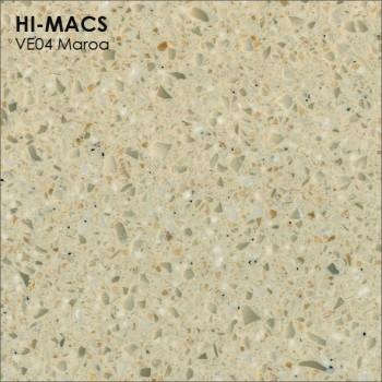 Образец искусственного камня от производителя LG HI-MACS Volcanics коллекцияVE04 MAROA..