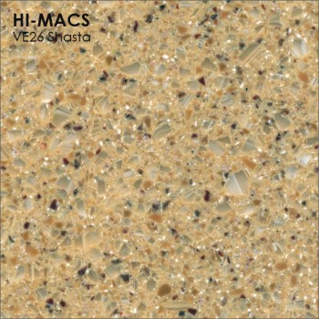 Образец искусственного камня от производителя LG HI-MACS Volcanics коллекцияVE26 SHASTA..