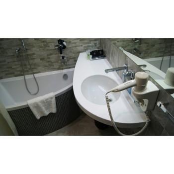 Умывальники из акрила для кухни и ванной - это эстетично и практично.Пускай это и искусственный каме..