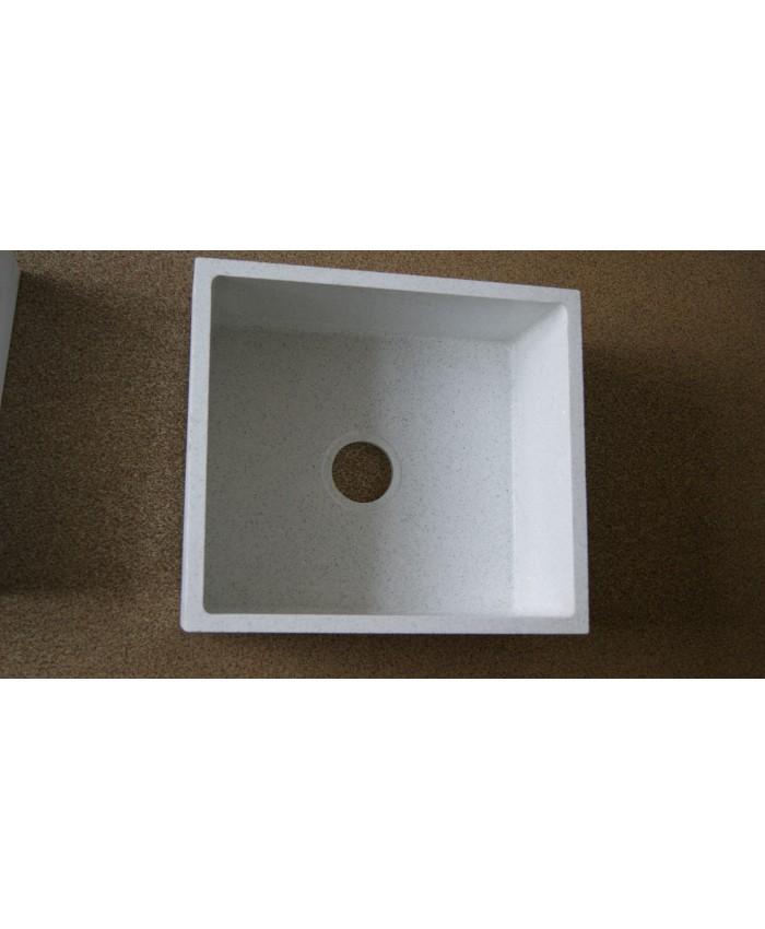 Мойка кварц прямоугольная с скруглеными углами